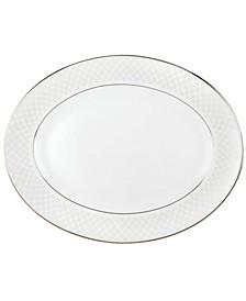 Dinnerware, Venetian Lace Medium Oval Platter
