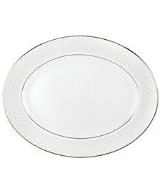 Lenox Dinnerware, Venetian Lace Medium Oval Platter