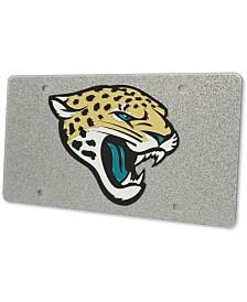 Stockdale Jacksonville Jaguars Glitter License Plate