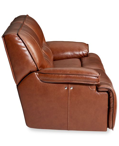 Furniture Closeout Beckett 88 Quot 2 Pc Leather Sectional
