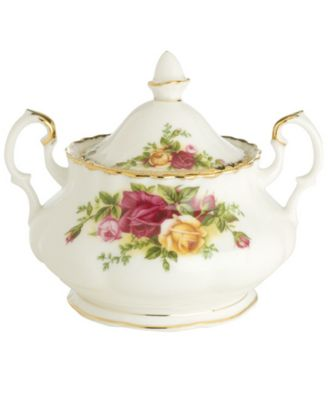 Old Country Roses 11 oz. Covered Sugar Bowl