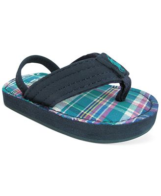 Ralph Lauren Baby Boys Theo Thong Sandals Shoes Kids