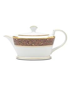 """""""Xavier Gold"""" Teapot, 40 oz"""