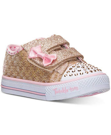 Skechers Toddler Girls' Twinkle Toes Shuffles - Sweet Steps Light-Up  Sneakers from Finish Line - Finish Line Athletic Shoes - Kids & Baby -  Macy's