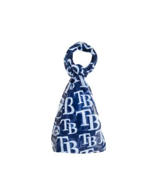 Tampa Bay Rays All Over Logo Infinity Scarf