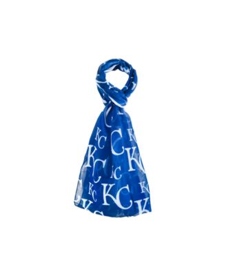 Kansas City Royals All Over Logo Infinity Scarf