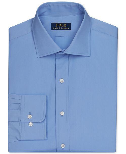 Polo Ralph Lauren English Poplin Solid Dress Shirt