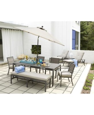 CLOSEOUT Marlough Outdoor Dining Collection Created for Macys
