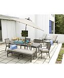 CLOSEOUT! Marlough Outdoor Dining Collection, Created for Macy's