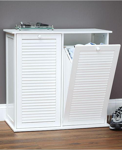 Tilt Out Laundry Double Sorter Cabinet 3 Reviews Main Image