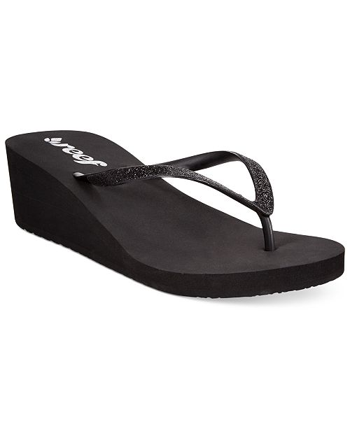 1f2c3b071c REEF Krystal Star Wedge Thong Sandals & Reviews - Sandals & Flip ...