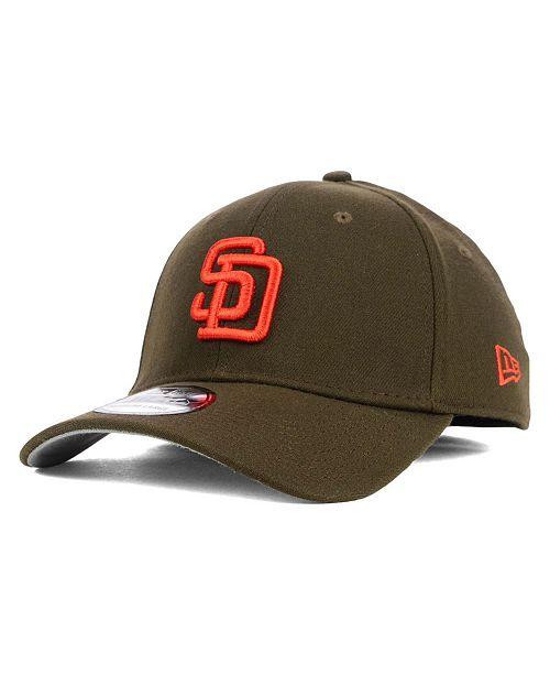 timeless design 2227d d17e6 ... New Era San Diego Padres Core Classic 39THIRTY Cap ...