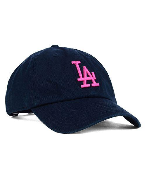 Dodger Hats Lids: '47 Brand Women's Los Angeles Dodgers Clean Up Cap