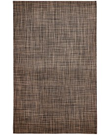 "Chilewich Earth Basketweave Floor Mat, 46"" x 72"""