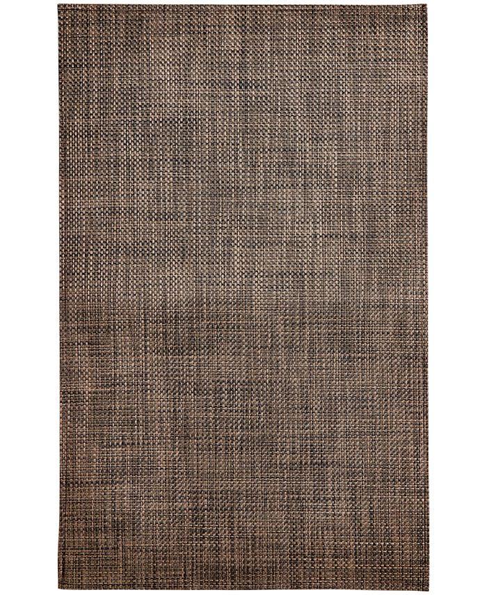 "Chilewich - Earth Basketweave Floor Mat, 35"" x 48"""