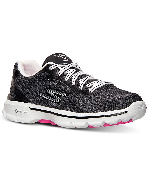 Buy > skechers go walk 3 fitknit womens walking shoes Off