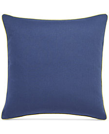 "bluebellgray Morar Relaxed Wash Linen 18"" Square Decorative Pillow"
