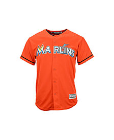 MajesticMiami Marlins Replica Jersey, Big Boys (8-20)