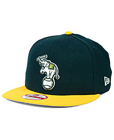 online retailer 873c5 66e52 New Era Oakland Athletics 9FIFTY Snapback Cap