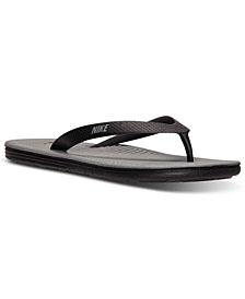 Nike Men's SolarSoft  Thong II Sandals from Finish Line