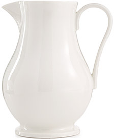 CLOSEOUT! Martha Stewart Collection Whiteware Pitcher