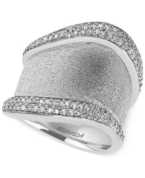 EFFY Collection Balissima by EFFY Diamond Ring (2/5 ct. t.w.) in Sterling Silver