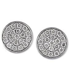 EFFY Diamond Round Stud Earrings (1/3 ct. t.w.) in 14K Gold or White Gold