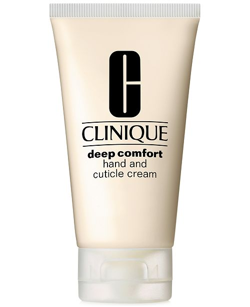 Clinique Deep Comfort Hand and Cuticle Cream, 2.5 oz.