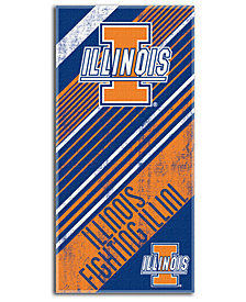 Northwest Company Illinois Fighting Illini Beach Towel
