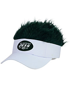 Concept One New York Jets Flair Hair Visor