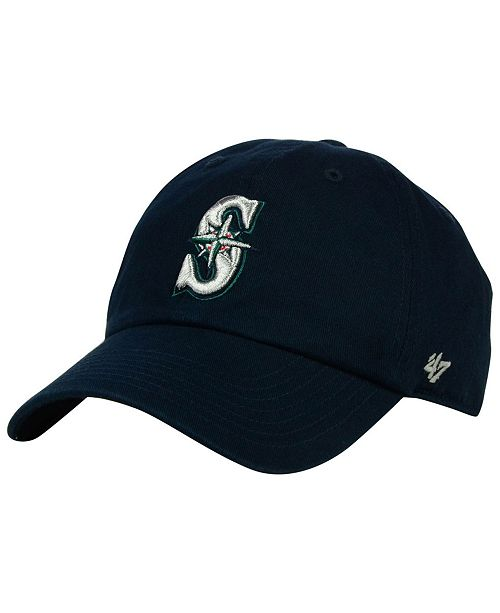 '47 Brand Kids' Seattle Mariners Clean Up Cap