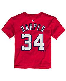 Majestic Babies' Bryce Harper Washington Nationals Player T-Shirt