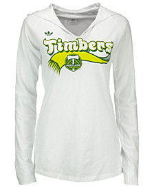 adidas Women's Portland Timbers Hooded T-Shirt