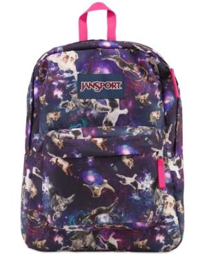 Jansport Superbreak Backpack, Multi Astro Kitty