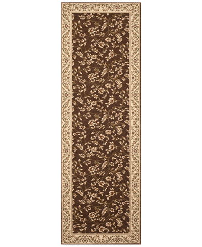 CLOSEOUT! KM Home Area Rug, Princeton Floral Brown 2'7