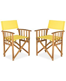 Kali Set of 2 Outdoor Director Chairs