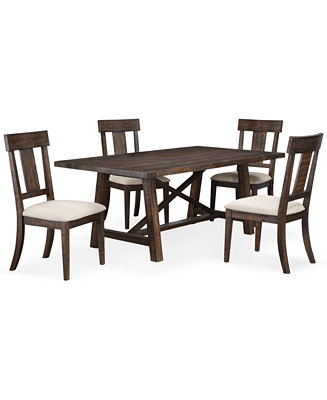 Furniture Closeout Ember 5 Piece Dining Room Furniture