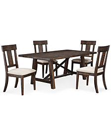 Ember 5 Piece Dining Room Furniture Set, Created for Macy's,