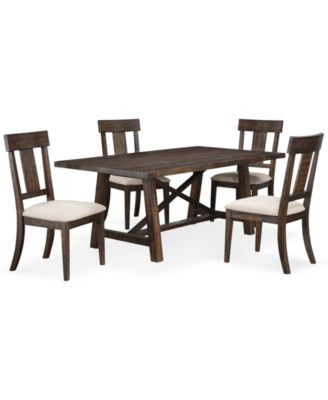 ember 5 piece dining room furniture set created for macyu0027s