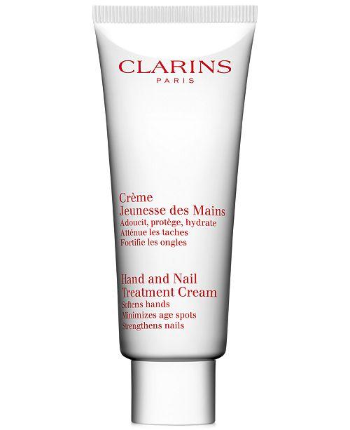 Clarins Hand and Nail Treatment Cream, 3.3 fl oz