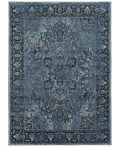 CLOSEOUT! Kenneth Mink Spectrum Mod Heriz Area Rugs