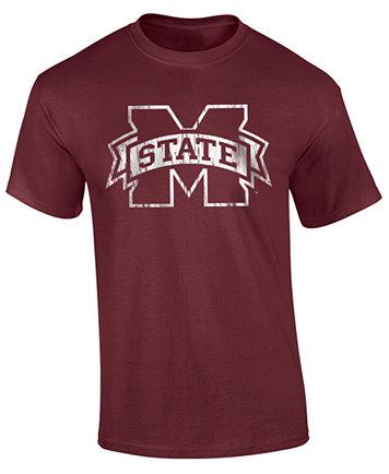 Image 1 of J America Men's Mississippi State Bulldogs Big Logo T-Shirt