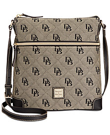 Dooney & Bourke Maxi Quilt Americana Signature Crossbody, Created for Macy's