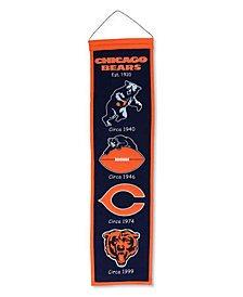 Winning Streak Chicago Bears Heritage Banner