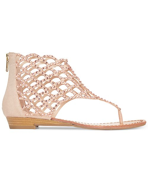 5283fb80024ee ZIGIny ZiGi Soho Melaa Caged Flat Thong Sandals   Reviews - Sandals ...