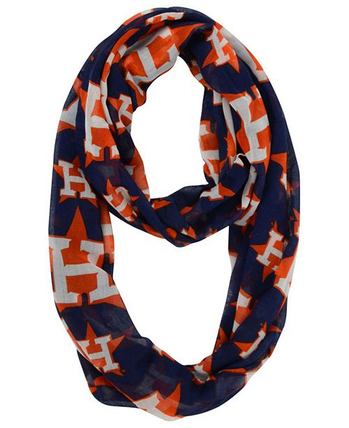 Houston Astros All Over Logo Infinity Scarf