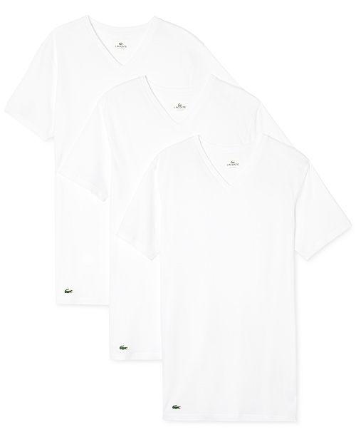 3493519e Men's 3 Pack V-Neck Undershirts
