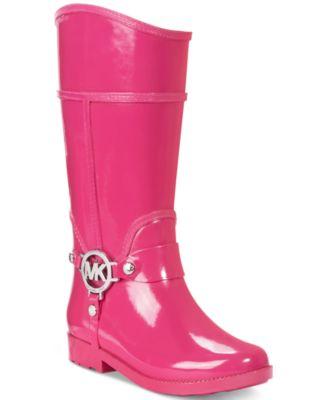 Michael Kors Girls' or Little Girls' Rain Boots - Shoes - Kids ...