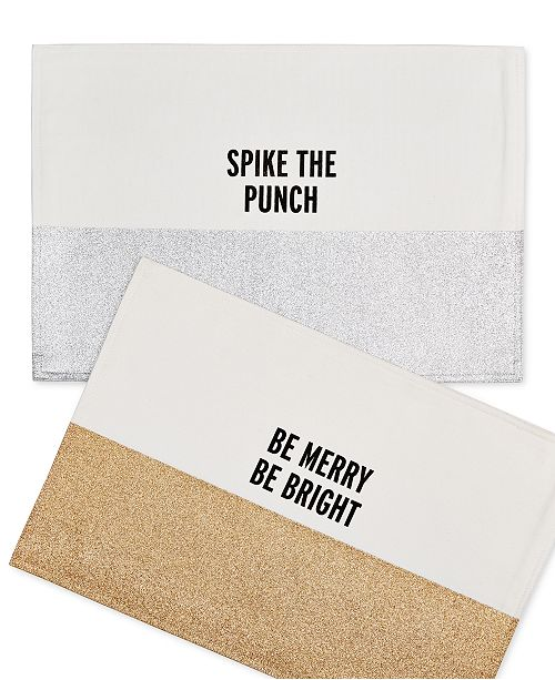 kate spade new york Food for Thought Placemats