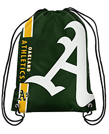 Forever Collectibles Oakland Athletics Big Logo Drawstring Bag